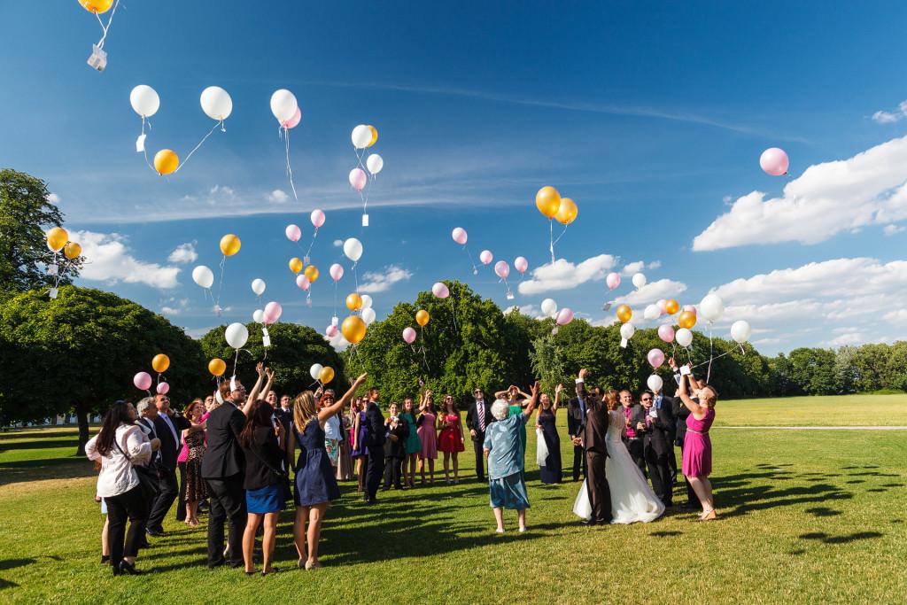 Hochzeitsfotografien von Dominique Hammer, Fotos von Sarah und Lukas in Laxenburg